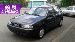 O que um Volkswagen Gol 1998 está fazendo à venda na Alemanha?