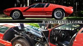 Um dos 402 De Tomaso Mangusta que existem no mundo está à venda por R$ 1,4 milhão – e vale cada centavo