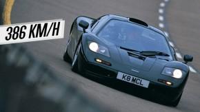 A verdadeira história do recorde de velocidade do McLaren F1