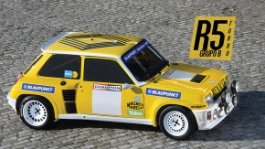 Um legítimo Renault 5 Turbo do Grupo B de rali à venda é algo raro de se ver