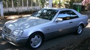 Mercedes-Benz S600 C140: que tal um cupê com o motor do Pagani Zonda na sua garagem?