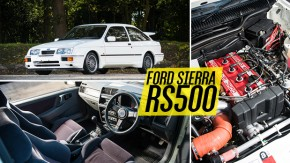 Sierra RS500 Cosworth: 30 anos do último hot hatch de tração traseira da Ford