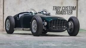 Troy Custom Roadster: uma bela mistura de hot rod, Indy Roadster e monoposto de Fórmula 1 dos anos 1950