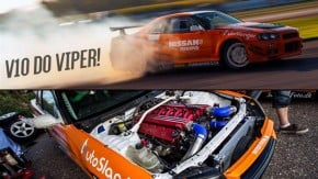 Skyper: o Nissan Skyline R34 que trocou o seis-em-linha pelo V10 do Dodge Viper