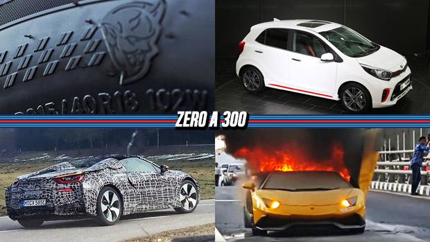 Dodge pode ter revelado o torque do Demon, Picanto terá versão 1.0 turbo, Lamborghini anuncia recall de quase 6.000 Aventador e mais!