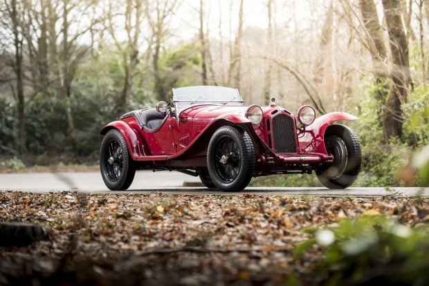 Alfa-Romeo 8C Monza. Photo: James Lipman / jameslipman.com
