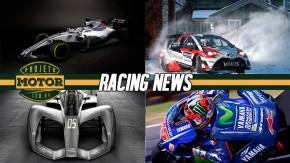 Williams já exibe o FW40, Toyota surpreende e lidera no WRC, o visual futurista do novo Fórmula E e mais!