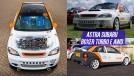 Alguém transformou um Vauxhall Astra em um Subaru WRX na garagem de casa