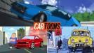 Os desenhos e quadrinhos que não são sobre carros, mas usam carros de verdade – parte 3
