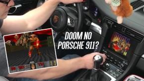 Será mesmo que um Porsche 911 consegue rodar <i>Doom</i>?