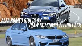 Alfa Romeo Quadrifoglio vs. BMW M3 Competition Package: será que os italianos superaram os alemães?