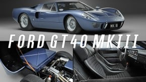 Estas fotos provam que o Ford GT40 MkIII é um dos supercarros mais fantásticos já feitos