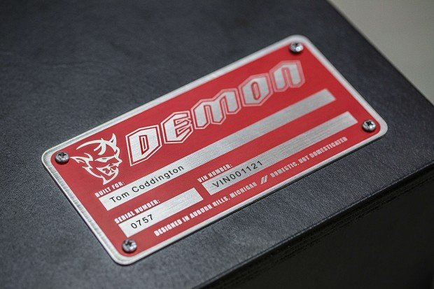 Each Demon Crate is personalized for its owner with a serialized