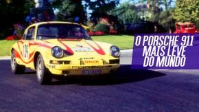 """Porsche 911 ST """"Hippie"""": a história do 911 mais leve já feito"""