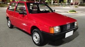 Você não vai encontrar um Fiat Uno Mille Brio tão novo quanto este à venda