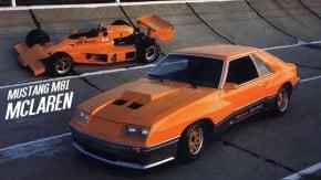 Mustang McLaren M81: quando a McLaren fez um Ford Mustang turbinado