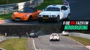 Etiqueta na pista: tudo o que você não deve fazer em Nürburgring Nordschleife (ou em qualquer autódromo)