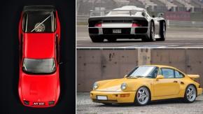 Os cinco Porsche mais raros do planeta – segundo a própria Porsche