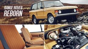 """Reborn: agora você pode comprar um Range Rover 1978 """"zero-quilômetro"""" com garantia de fábrica"""