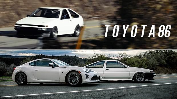 AE86 Sprinter Trueno: como a Toyota transformou um Corolla em um carro tão divertido?