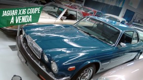 Um Jaguar XJ6 Coupe raro e muito bem cuidado está à venda no Brasil