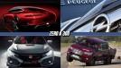 Mercedes começa a mostrar versão quatro portas do AMG GT, Honda Civic Type R aparece antes da hora, Peugeot Citroën compra Opel e mais!