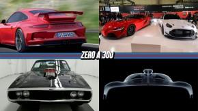 Porsche 911 poderá ter motor central no futuro, Motor de F1 do hipercarro da AMG irá durar apenas 50.000 km, a volta do Toyota MR2 e mais!
