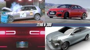 """Golf nacional tira nota máxima no LatinNCAP, Audi Sport irá lançar 8 modelos em 18 meses, Dodge Demon terá """"reserva de torque"""" e mais!"""