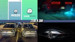 """Waze terá serviço de caronas no Brasil, motorista estaciona ao lado do clone de seu carro, Dodge Demon terá """"trans brake"""" e mais!"""