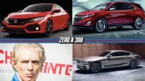 Novo Civic Si terá 26,5 mkgf de torque, Chevrolet confirma Equinox no Brasil, a morte de Alfredo Guaraná e mais