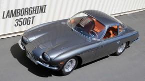 350 GT: primeiro de todos os Lamborghini levava um ano inteiro para ser fabricado