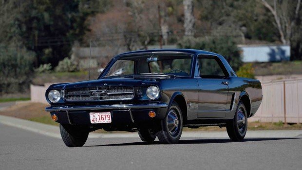 Ford Mustang hardtop auction -1