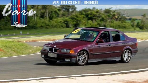 BMW 328i E36 MT: os primeiros upgrades e a estreia nos track days do Project Cars #404