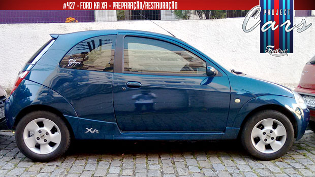 Project Cars  Pequenos Reparos E O Convivio Com O Ford Ka Xr