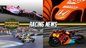 McLaren sonda Mercedes, F1 pode voltar a Adelaide, Force India veste Rosa, briga na Nascar e mais!