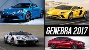 Salão de Genebra 2017: estes são os carros que você precisa ver