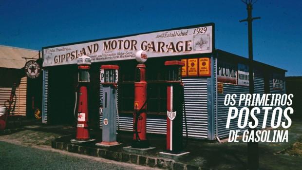 Como surgiram os postos de combustível?