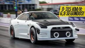 O Nissan GT-R mais rápido do mundo tem 2.500 cv e faz o quarto-de-milha em seis segundos