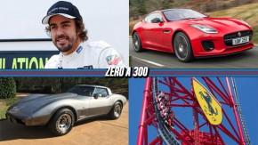 Fernando Alonso irá disputar a Indy 500,  Jaguar F-Type ganha motor 2.0 turbo de 300 cv, um Corvette 78 com 25 km e mais!