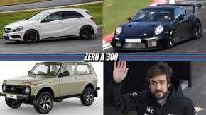 Próximo Mercedes-AMG A45 terá mais de 400 cv, Porsche 911 GT2 RS terá 700 cv (e não 650), Lada Niva ganha edição de 40 anos e mais!