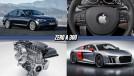 Novo BMW Série 5 no Brasil, Apple ganha licença para testar carros autônomos, O novo R8 Audi Sport e mais!
