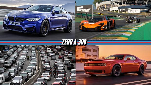 BMW lança novo M4 CS com 460 cv, Interlagos estará em Gran Turismo Sport, Hennessey terá pacote de 1.500 cv e mais!