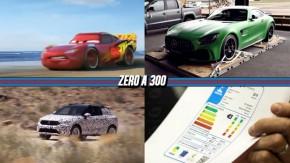 """O primeiro trailer oficial de """"Carros 3"""", Mercedes-AMG GT R chega em agosto por R$ 1,2 milhão, o Volkswagen T-Roc em ação e mais!"""