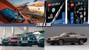 Forza Horizon terá pistas de Hot Wheels,Aston Martin coloca seus clássicos para acelerar lado a lado, Nissan irá produzir peças novas para seus Skyline R32, R33 e R34e mais!