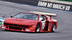É assim que um BMW M1 de corrida (com motor V8) deve ser pilotado