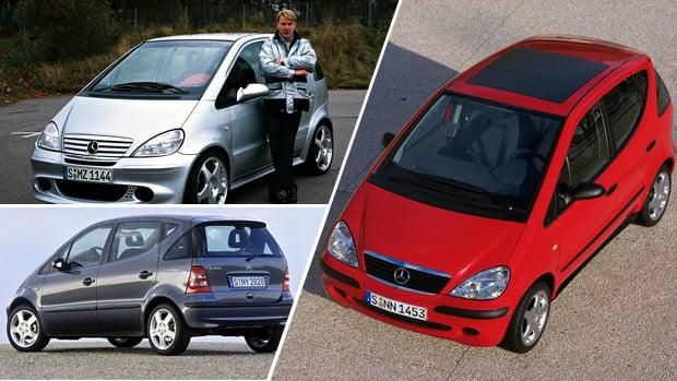 20 anos do Mercedes Classe A: a história do Baby-Benz