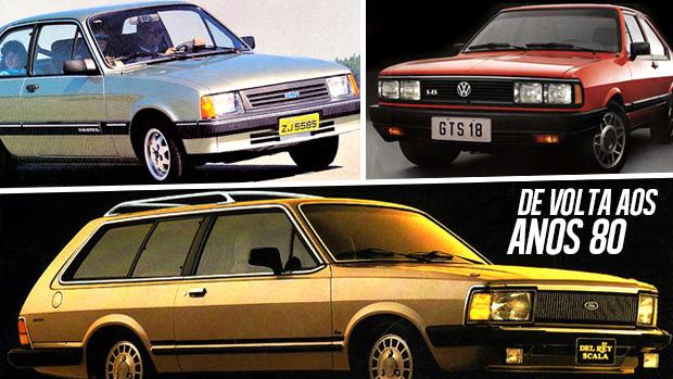 De volta aos anos 80: relembre os carros mais vendidos da década no Brasil