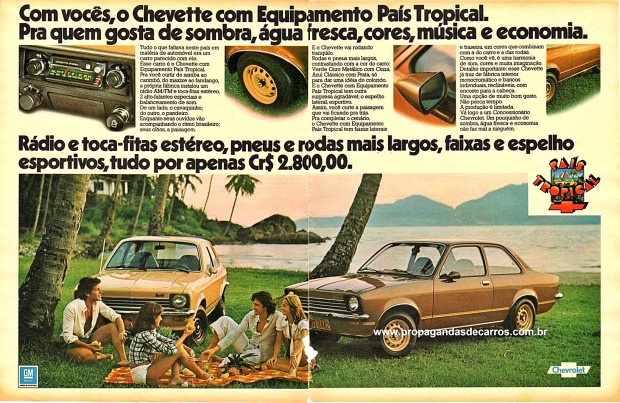 Chevette Pais Tropical Propaganda HD
