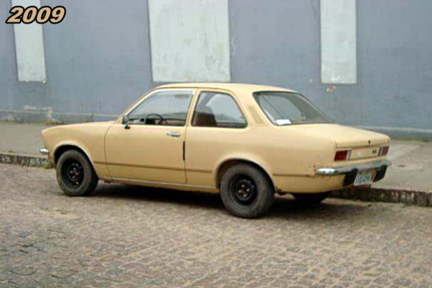 Chevette Pais Tropical bege 2009