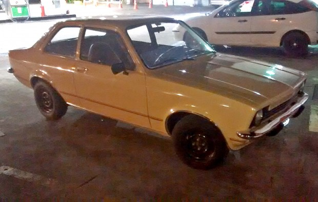 Chevette Pais Tropical chegada